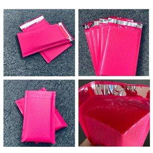 저렴한 용지 1 개 / 5PCS 147 * 230mm 폴리 버블 메일러 핑크 자기 인감 패딩 봉투 가방 종이 봉투를 메일 링