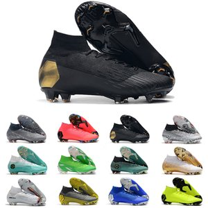 2019 7 360 Mens Fury Cr Se Vapors Xii Vii Футбольные Бутсы Футбольные Бутсы Mercurial Superfly Vi Elite Fg Уличная Обувь