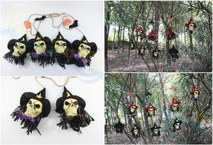 Halloween Party 160pcs Detalhes no Garland Bunting Bandeiras janela bar bruxa casa Crânio Market Mall bandeira festival Pendant Props
