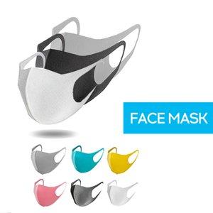 1 unid reutilizable Máscaras esponja Cara Máscaras Seguridad protectora Cara cubierta sin olor montar a prueba de polvo y anti-niebla máscaras