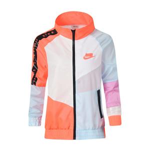 2019 новый дизайнер куртки пальто мода женская куртка с капюшоном осень марка ветровка молния толстовки женская спортивная одежда 2 цвета M-2XL