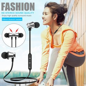 Wireless Bluetooth headphones XT11 Sports In-Ear BT 4.2 Stereo Magnetic earphone headset earbud with MIc For iphone X 8 Samsung