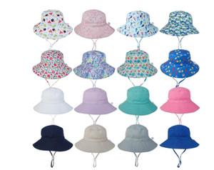 2020 новый летний Baby Sun Hat дети открытый шеи ушная крышка анти УФ защита пляжные шапки мальчик девочка плавание шляпы для 0-8 лет дети