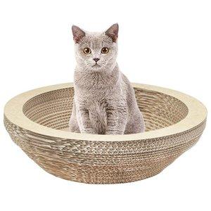 Cat Scratching Lounge Board Corrugated Cardboard Scratcher Cat Scratch Pad Post Sharpen Pet Toy Large
