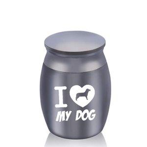 30x40mm ceneri umane Funeral Dog cremazione Urna Casket Container Mini Piccolo nessuna deformazione memoriali per gli animali domestici in alluminio