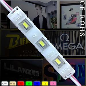 وحدة ضوء مصباح SMD 5730 وحدات ماء للرسائل علامة الصمام الخلفي ضوء SMD5730 3 قاد 0.72W 150LM DC12V