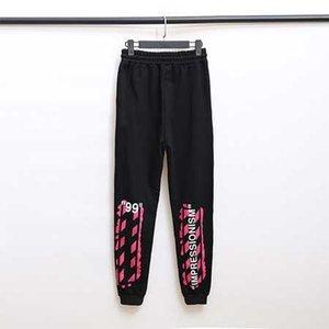 Tasarımcı Tasarımcı Lüks Moda Koşu Pantolon Siyah Pantolon Yüksek Kaliteli Casual Açık Spor Spor Hip Hop Baskılı Spor Pantolon N