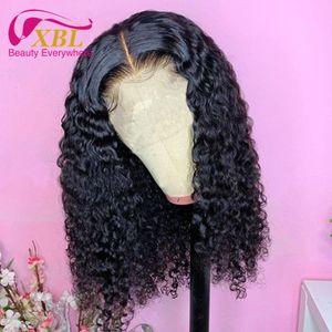 LULU Curl Bakire İnsan Saç İnsan Saç Peruk Dantel Boyut 13by6 Sıcak Satış Pixie Curl İnsan Saç Frontal Dantel Peruk