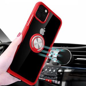 아이폰 (11) 프로 맥스 케이스 차량용 홀더를 들어 아이폰 (11) Coque를 들어 자기 흡입 브라켓 휴대 전화 액세서리 부품 커버 스탠드