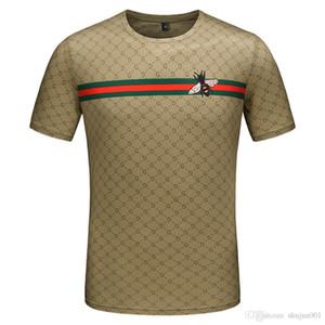 19ss модели новых мужчин алмазный дизайн футболки роскошные футболки мужские забавные футболки марки хлопка топы и тройники новое прибытие