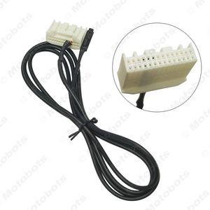 gros 1,5M Car Audio Video CD Changeur DVD Micphone MIC Adaptateur fil 28PIN Port pour Toyota Prado 2700 # 5669
