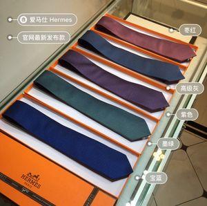 Laço monograma clássico Bee Pattern de 2020 Acessórios de Moda H Men Silk Tie Sunglasses Hat Cinto Lenço 100% de seda Handmade personalizado