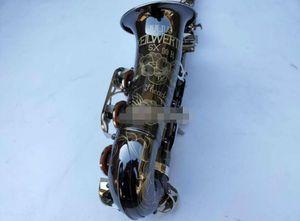 Германия JK SX90R Keilwerth Саксофон альт Black Nickel Silver Alloy Alto Sax Духовой музыкальный инструмент Case мундштук Copy