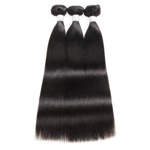 12A Straight Raw Extensions de Cheveux Humains 3 / 4Bundles Kinky Bouclés Vague de Corps Haut Grade Qualité Brésilien Péruvien Péruvien Indien Bundles De Cheveux