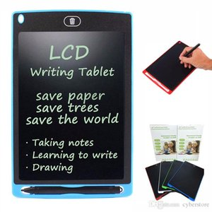 LCD Writing Drawing Board with Stylus Tablet 8.5 Quot Electronic Writing Tablet Digital Pad for Kids Office retail package new