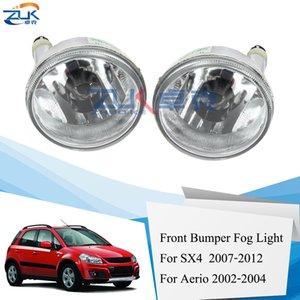 Zuk Front Bumper Figur Light Fog Lamp Daying Driving Light For Suzuki SX4 2007-2012 For Aerio 2002 2004 Foglights