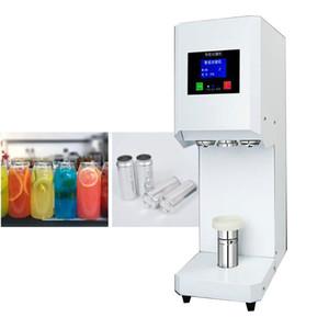operculeuse automatique pour l'aluminium peut thé de lait Boutique de boisson froid 500ml 650ml peut sertisseuse
