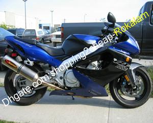 YZF1000R ABS Verkleidungs-Kit für Yamaha YZF 1000 R Thunderace 1997-2007 YZF1000R Blau Schwarz Racing Motorrad-Verkleidungen