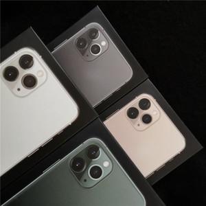 phone box UE US Version mobile pour iPhone 11 11 pro 11 pro max emballage vide détail sans accessoires Avec autocollant manuel