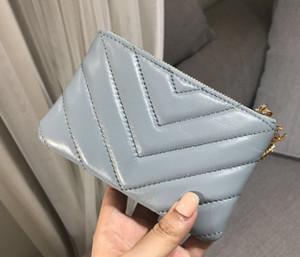 New smog blau V Muster Geldbörse kurze Brieftasche rhombische Schaffell Brieftasche Eule hängen Reißverschluss Karte Tasche Geldbörse Mini Clutch Taschen Brieftaschen