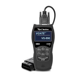 Reader attrezzo diagnostico dell'automobile di codice OBD2 lettore di Vgate VS890 Engine Analyzer scanner EOBD OBD2 codice Autoscanner