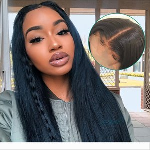 13x6 Lace Front Human Hair Wigs Ple Plucked For Black Women 250% Density Remy Brazilian Straight Ali Pearl Lace Wigs