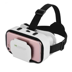 VR shinecon VR 3D óculos óculos de Realidade Virtual Pronto jogador um ovo de Páscoa filmes jogos para 4.0-6.0 polegada universal smartphone