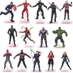 Yenilmezler: PVC Eylem Marvel Heros 30cm Iron Man Kaptan Amerika Ultron Wolverine Şekil Oyuncak Şekil Yüksek kalite Endgame