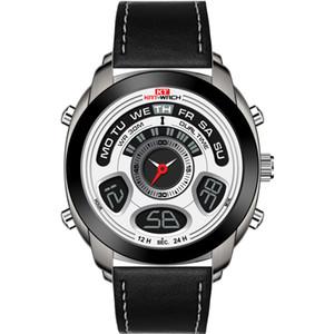 KAT-WACH 다기능 전자 시계 야외 스포츠 빛나는 남자의 석영 발광 방수 남성 남성 시계 주도