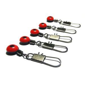200 Unids Space Beans Línea de Pesca para Gancho de Balanceo Giratorio con Pesca Conector de Flotador Rápido Pesca en el Mar