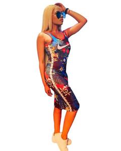 женский дизайнер выше колена юбка без рукавов цельный платье высокое качество bodycon платье сексуальная элегантный роскошный мода юбка klw1589