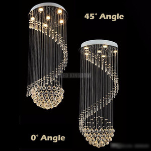 Современный K9 Clean Crystal потолочный светильник подвесной лампы люстра света крытый освещение светодиодный потолочный светильник гостиной коридор люстры