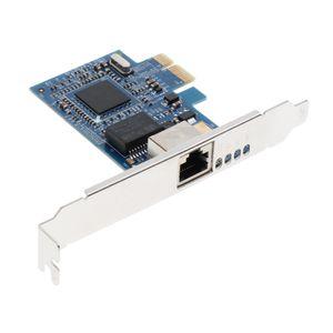 Gigabit Ethernet PCI-E Network Network Controller Cartão RJ45 para desktop