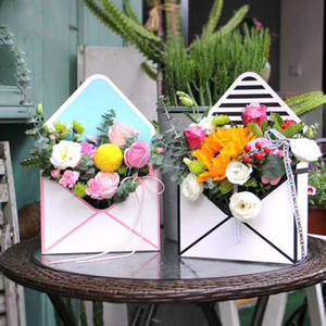 50 قطع البسيطة الإبداعية ورقة مغلف طية زهرة مربع باقة الزهور مربع روز التغليف هدية مربع حزب الديكور lin4675