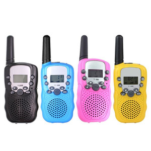 Mini Walkie Talkie Giocattolo dei bambini 22 canali Walkie talkie bidirezionale regalo bambini radio ricetrasmittente UHF Handheld Long Range