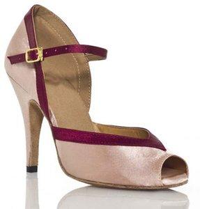 XSG chaussures fond mou latine Les femmes Chaussures de danse latine chaussures femme carré usure latin personnalisé carré professionnel de la danse