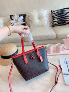 2019Brand 패션 디자이너 핸드백 미니 레터 인쇄 메신저 가방 럭셔리 높은 품질 여성 토트 0729