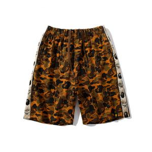 Yaz En Yeni Erkek Renk Çöl Kamuflaj Plaj Şort Pantolon Lover Spor Hip Hop Pantolon Şort Ücretsiz Kargo