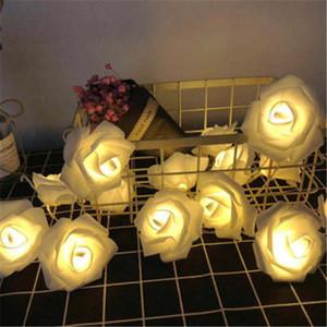 جديد أدى أضواء روز أضواء الاقتراح أضواء ل هالوين عيد الميلاد حزب مأدبة الديكور الصمام البطارية بالطاقة