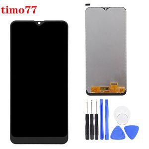 Samsung Galaxy A20 SM-A205U A205W Yedek Parça Siyah TFT parlaklık ayarlamak için süper Lcd Ekran Ekran Digitizer Meclisi