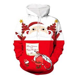 Mens Designer Felpa colori di Natale Felpa con cappuccio Collegio di stile di tendenza di modo all'aperto sportivo di Shiping 2019 Autumn Top Quality