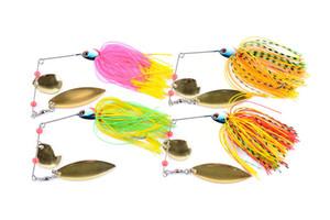 1pcs Spinner Bait Metal Lure Hard Fishing Lure Spinner Lure Spinnerbait Pike Swivel Fish Tackle Wobbler Fishing