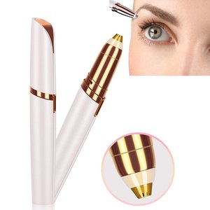Lippenstift Augenbrauen-Trimmer Gesicht Brows Haarentferner Mini Pen Elektrorasierer Painless Eye Brow Epilierer