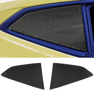Rear Louver Frame Cover Automotive Interior Sticker For Chevrolet Camaro 2017 Up Factory Outlet (Carbon Fiber)