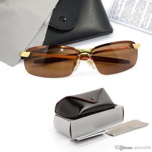 Lunettes de soleil polarisées de haute qualité Marque Lunettes de soleil pour hommes Marque Designer Lunettes de soleil Lunettes de protection UV avec étuis d'origine