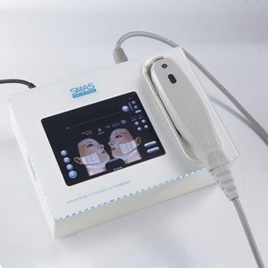Mini HIFU High Intensity Focused Ultrasound HIFU Face Lift rugas Remoção de corpo emagrecimento máquina com 5 cabeças para rosto e corpo