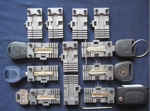 Tüm Anahtar Kesme Kopya Kopyalama Makinesi Parçaları Çilingir Araçları 2 adet / lot için Universal Araç Keys Kelepçe Armatür Klasör Klip