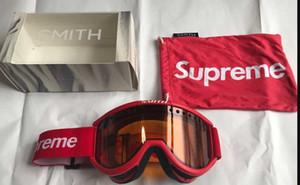 Toptan Satış - Toptan-FW15 Sup Kayak Gözlükleri Snowboard Gözlüğü Çift lens, Anti-sis Kayak Gözlüğü Motocross Maskeleri Gözlük