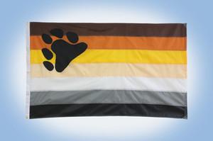 Медведь флаг гей гордость лесбиянка ЛГБТ 3x5 футов 90x150 см фестиваль партия подарок Спорт 100D полиэстер крытый открытый печатные горячие продажи