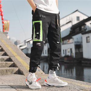 MarchWind Marca multi tasche cargo Harem Jogger Pantaloni Uomo di Hip Hop Fashion Casual Traccia Pantaloni Streetwear Harajuku Hipster Sweatpants